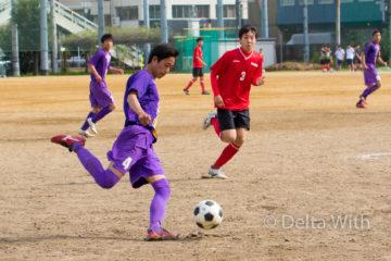 高校サッカーの写真撮影